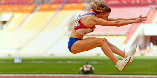 Athletic Young Woman can develop Orthorexia Excessive Exercise