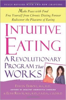 cover of the book Intuitive Eating by Elyse Resch