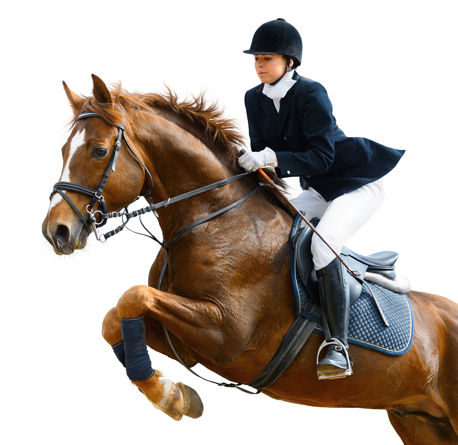 excessive exercise example with girl on horse