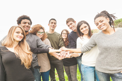 Friends in support group therapy