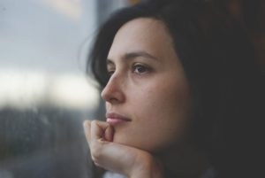 Woman with anxiety and going through Interpersonal Psychotherapy