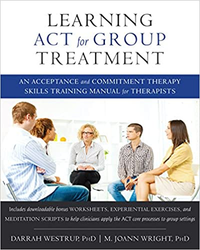Learning ACT for Group Treatment Book Cover